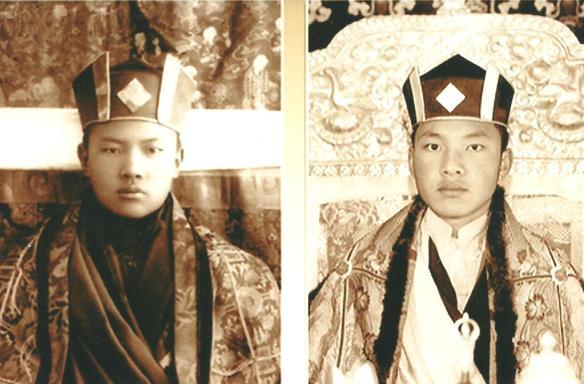 Karmapa 16 & 17 001